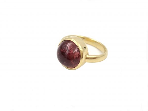 Geelgouden ring met tourmalijn - Nele Blanckaert